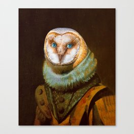 Lord Owl Canvas Print