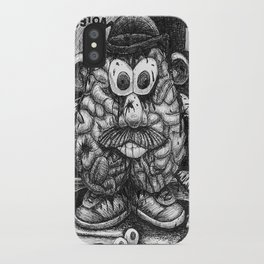 Mr. Brainhead iPhone Case