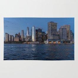 NYC Skyline at Dusk Rug