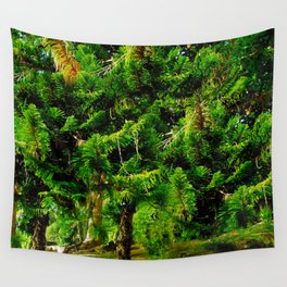 Magic of Trees Wall Tapestry