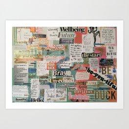 affirmations Art Print