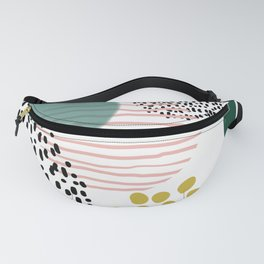 Abstract Modern Pattern 7 Fanny Pack