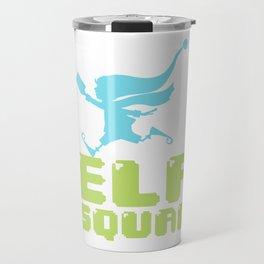 Elf Squad Elves Christmas Family Fun Gift Travel Mug