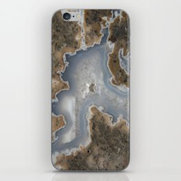 Abstract Rhyolite & Agate iPhone Skin