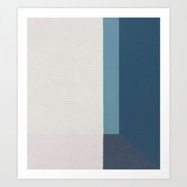 Corner 2 Art Print