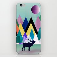 hipster iPhone & iPod Skins featuring hipster by mark ashkenazi