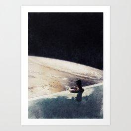 edge of uncertainty Art Print