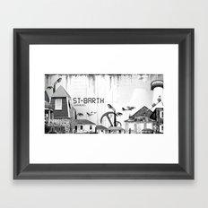 Saint Barth Framed Art Print
