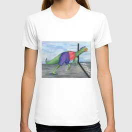 Running Dinosaur - Franklin T-shirt