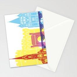 Metz skyline pop Stationery Cards
