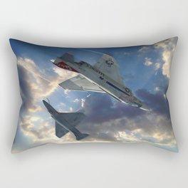 The Duel Rectangular Pillow