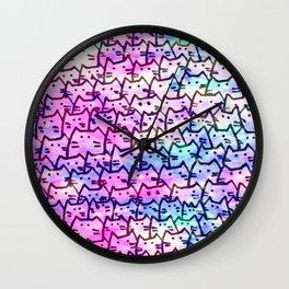 cats 217 Wall Clock