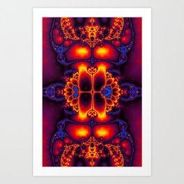 """""""Buddha Fire"""" Fractal Art Print Art Print"""