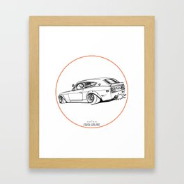 Crazy Car Art 0225 Framed Art Print