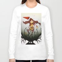 over the garden wall Long Sleeve T-shirts featuring Over the garden wall by Itzitxou