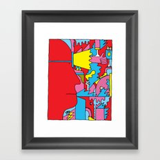 Study no. 5 Framed Art Print