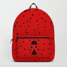 Ladybug Pattern Backpack