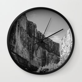 Santa Elena Canyon, Big Bend National Park Wall Clock