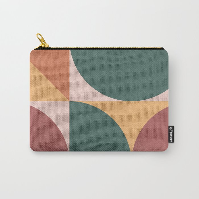 Mid Century Modern Geometric Abstract 231 Carry-All Pouch