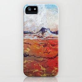 Lone Star Geyser iPhone Case