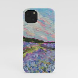 Texas Bluebonnet Field iPhone Case