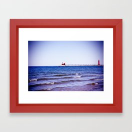Lighthouse II Framed Art Print