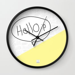 Hello :p Wall Clock