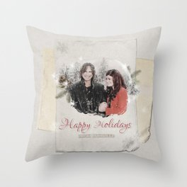OUAT HAPPY HOLIDAYS // Rumbelle Throw Pillow