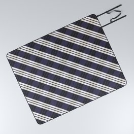 Static Movement (Patterns Please) Picnic Blanket
