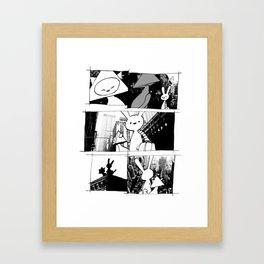 minima - vue Framed Art Print