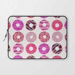 Half Dozen Donuts – Magenta Palette Laptop Sleeve