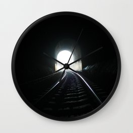 End In Sight Wall Clock
