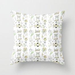Golden Wedding Tori Beth Throw Pillow