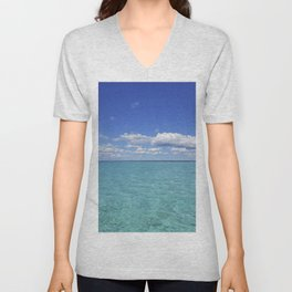 caribbean sea Unisex V-Neck