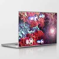 kodama Laptop & iPad Skins featuring Kodama by the Stream by pkarnold + The Cult Print Shop