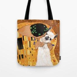 Llama THE KISS Tote Bag