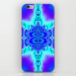 """Electric Purplescape"" Trippy Fractal Art iPhone Skin"