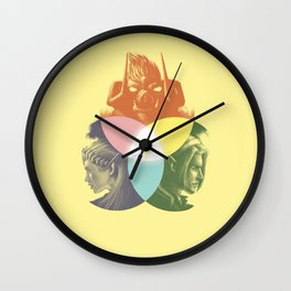 Venn Triagram Wall Clock