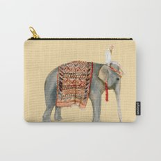 Elephant Ride on Sand Carry-All Pouch