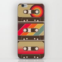 Mixed Tapes iPhone & iPod Skin