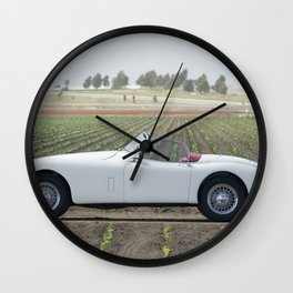 1956 Jaguar XK Wall Clock