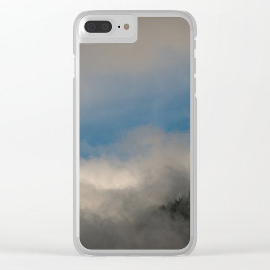Olympic National Park Clear iPhone Case