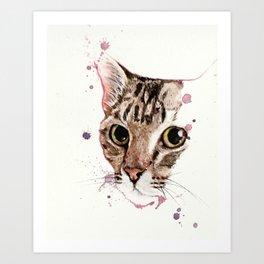 Catcat Art Print