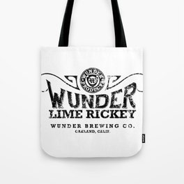 WUNDER LIME RICKEY SODA POP Tote Bag