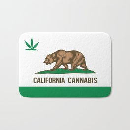 CALIFORNIA CANNABIS Bath Mat