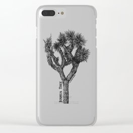 Joshua Tree Burns Canyon by CREYES Clear iPhone Case
