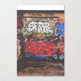 Dallas Scribe Canvas Print