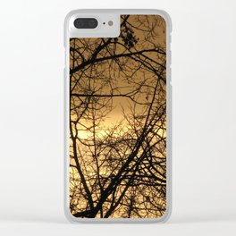 Hour Of Dawn Clear iPhone Case