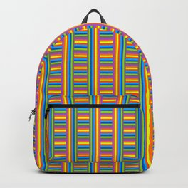 Colorama Pattern Backpack