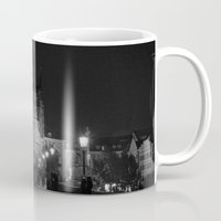 prague Mugs featuring Prague by Roberta Vilas Boas